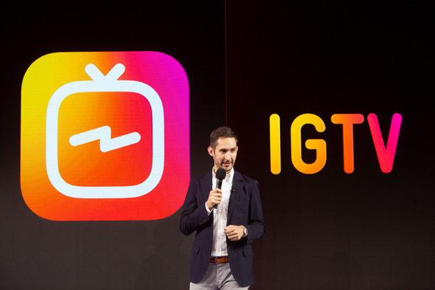 Lancement d'IGTV sur Instagram
